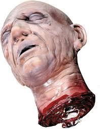 Chopped off head